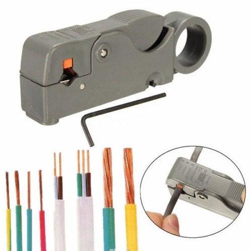 Koaxialkabel Abisoliermesser Werkzeug Für RG6 RG59 / 62 RG58 Abisolierzange