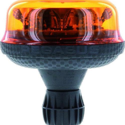 LED Rundumleuchte 128x132mm | Pegasus | Flexible Schnellbefestigung