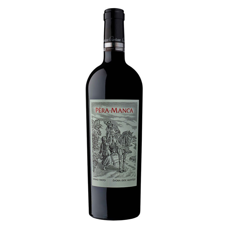 For a special occasion, this Pêra Manca - 2014 red wine, for example, will cost you at least 300 euros