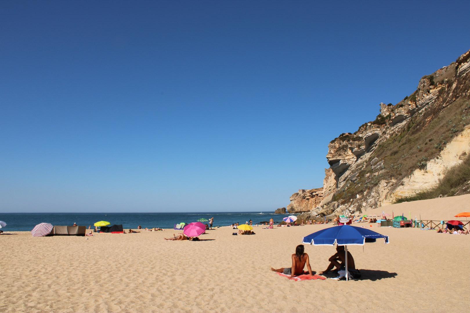 Nazare beach Silver Coast Portugal