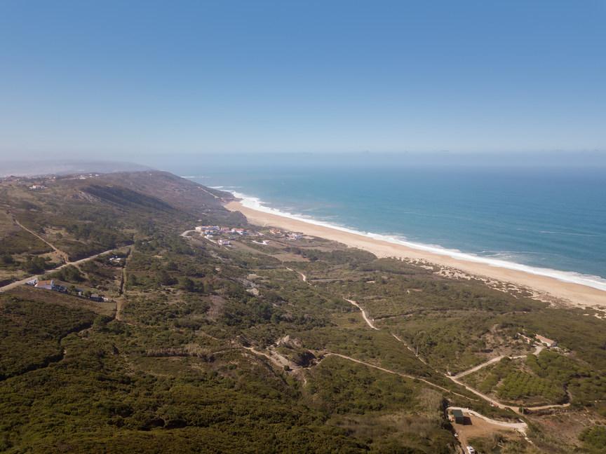 Plage de la Serra da Pescaria Salgado Côte d'Argent Portugal