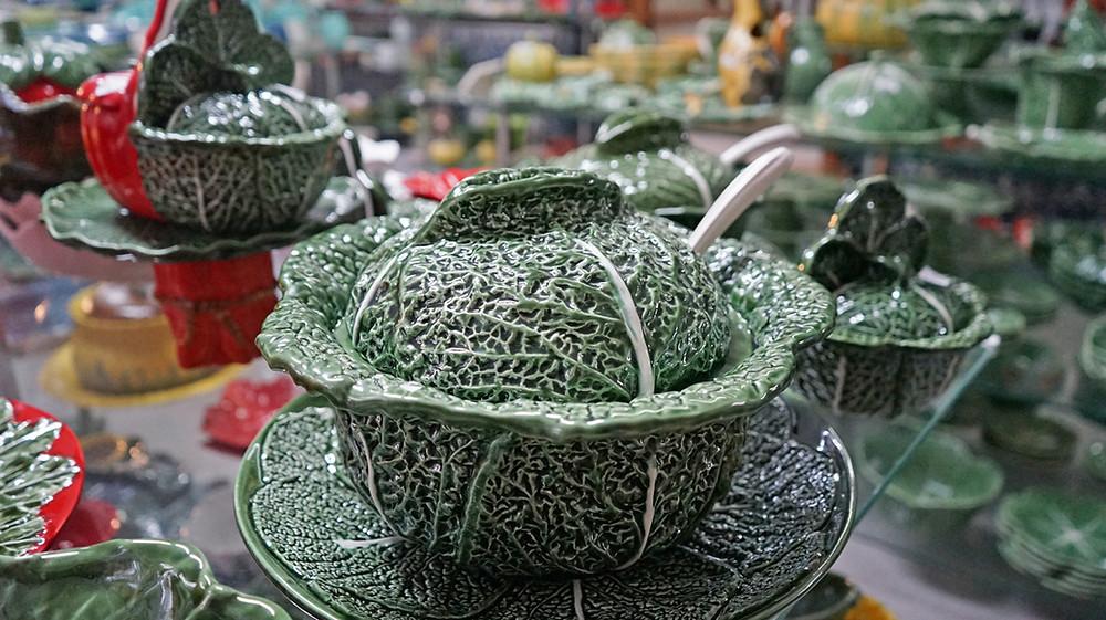 Caldas ceramics cabbage soup bowl