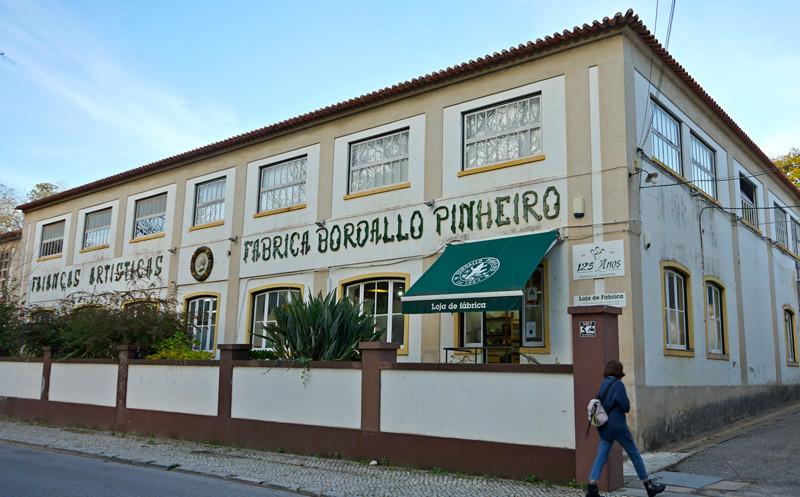 Fainaças Artísticas Fábrica Bordallo Pinheiro Factory Shop