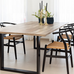 Dining area - Industrial Decor