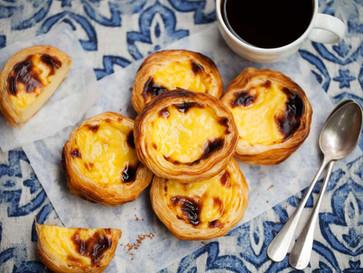 Pastel de Nata - one of Portugal's most famous pastries