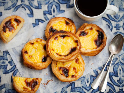 Pastel de Nata - one of Portugal's most famous pastries