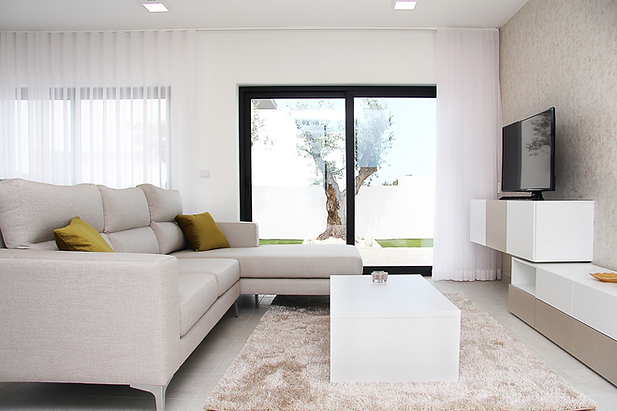 Modern interior decor furniture SCH living room sofa coffee table