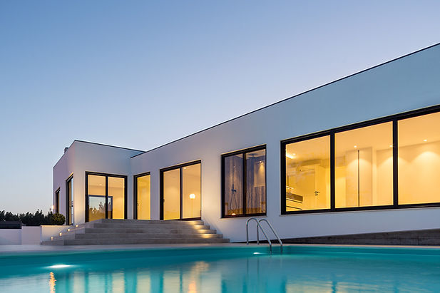 New build homes modern architecture Presprop Portugal Construction