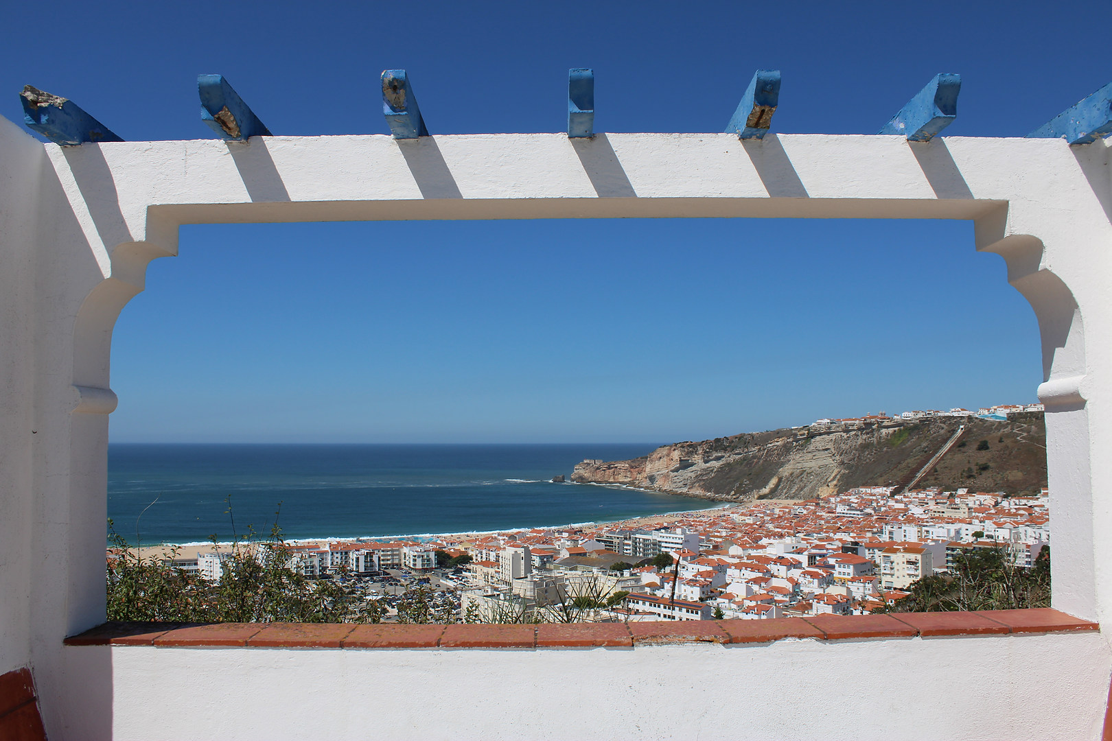 Lookout point Pederneira Nazare Portugal