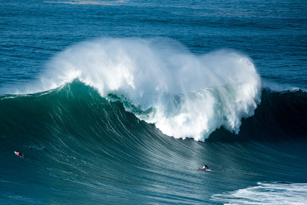 Nazare and the Big Wave