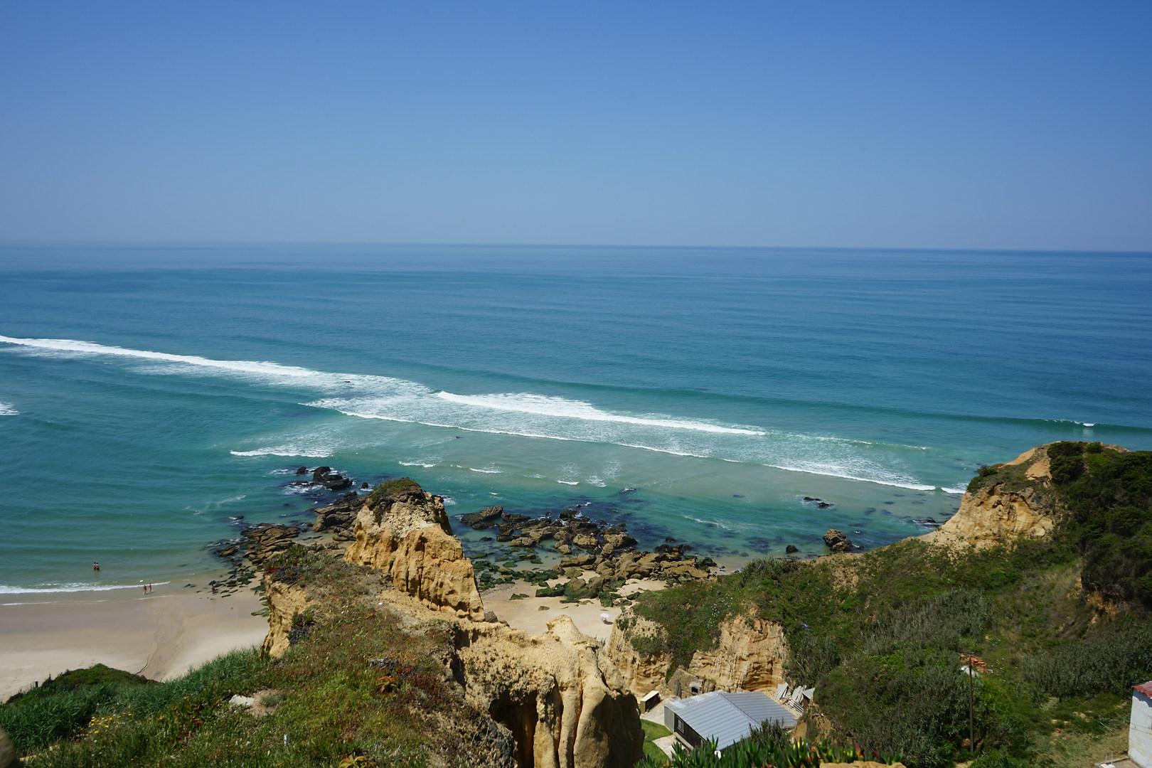 Serra da Pescaria and Salgado Beach