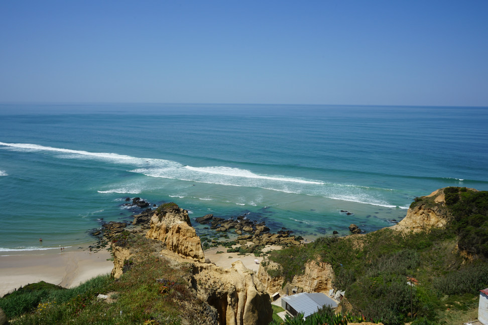 Serra da Pescaria et plage de Salgado
