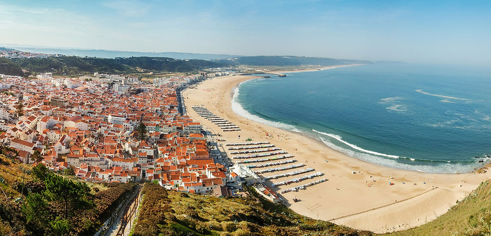 Nazaré beach Portugal