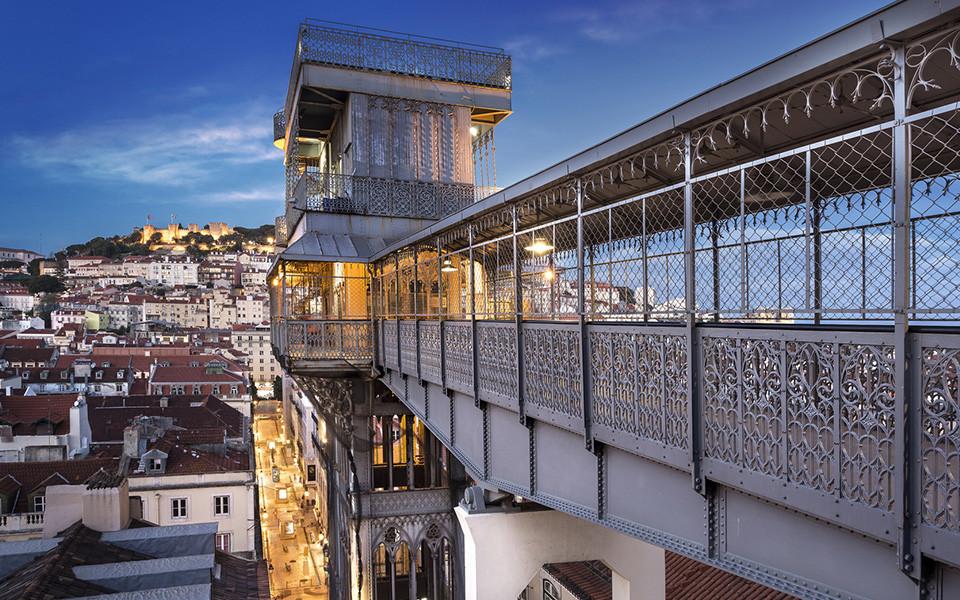 Santa Justa Elevator Lisbon