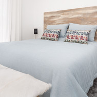 Double bedroom with Indy Furniture Line