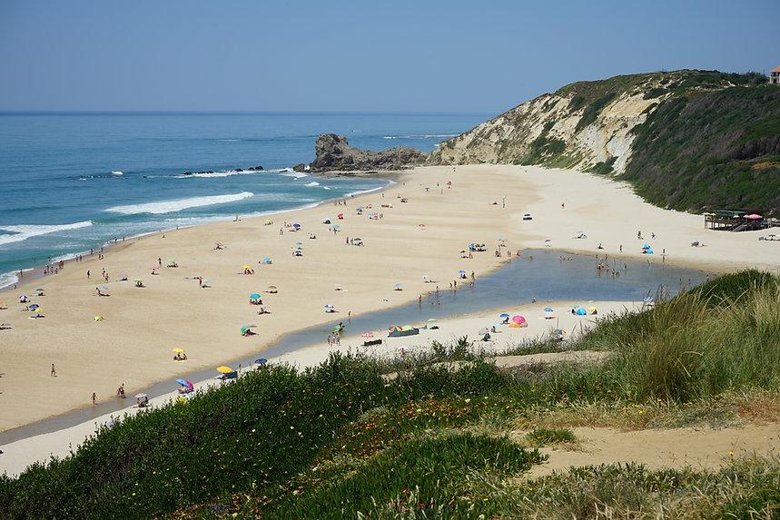 Paredes da Vitoria Beach Alcobaca Portugal