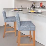 Kitchen area - bar stools