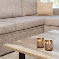 L-shaped 3 seat sofa