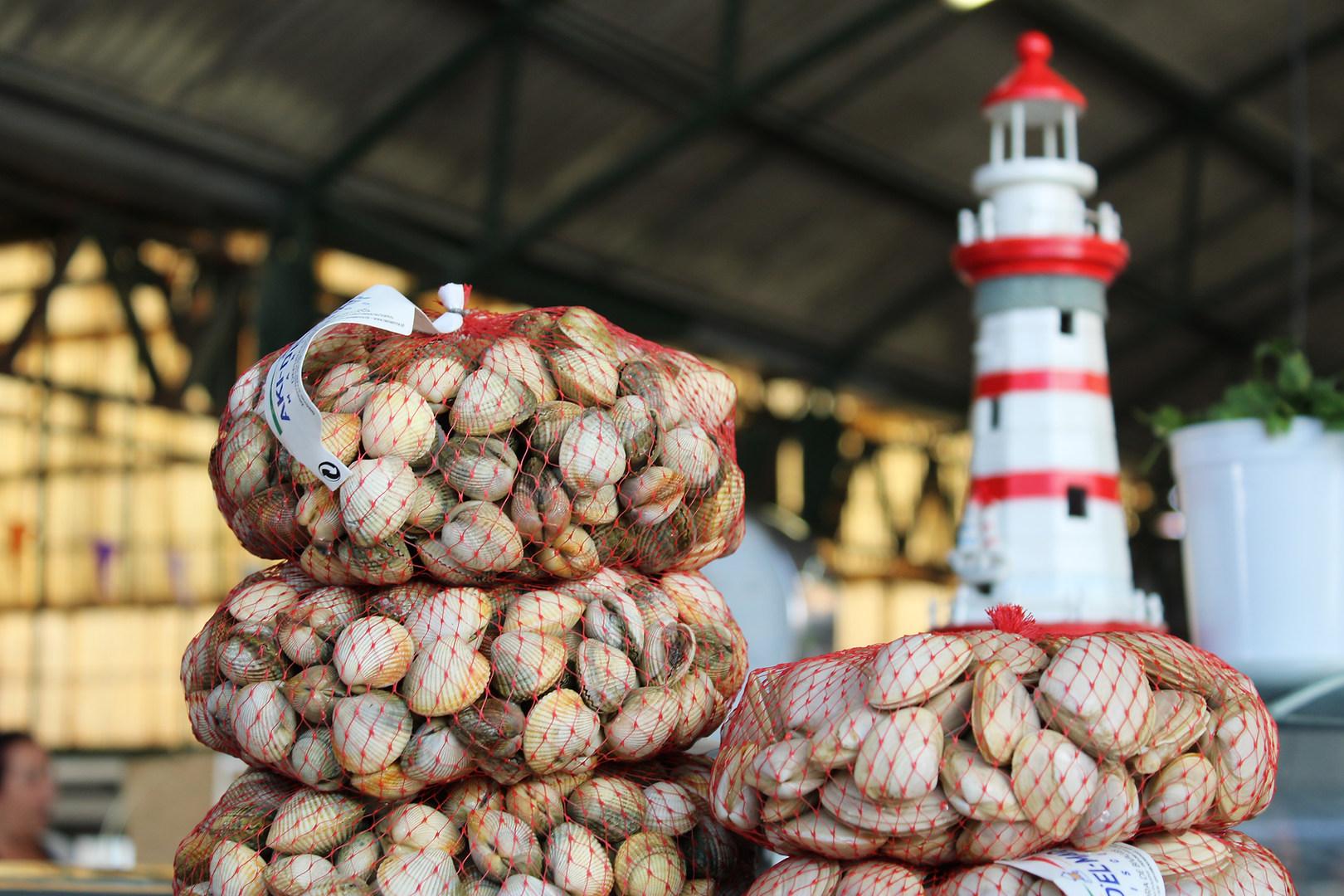 Fish Market Nazare Portugal