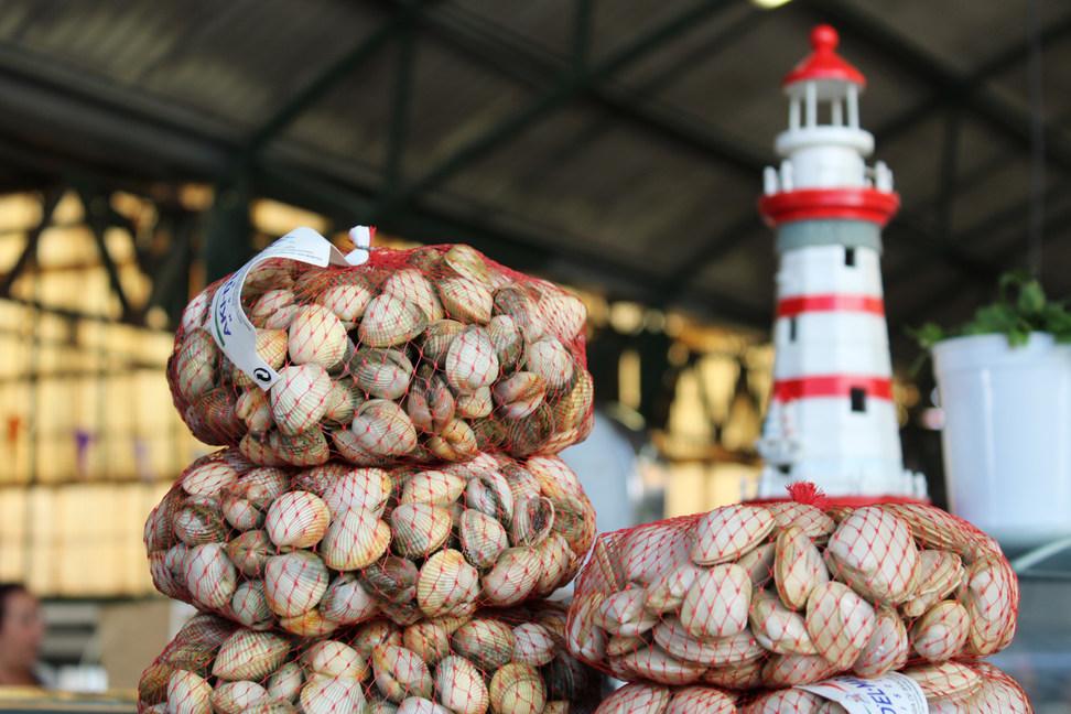 Marché aux poissons Nazare Portugal