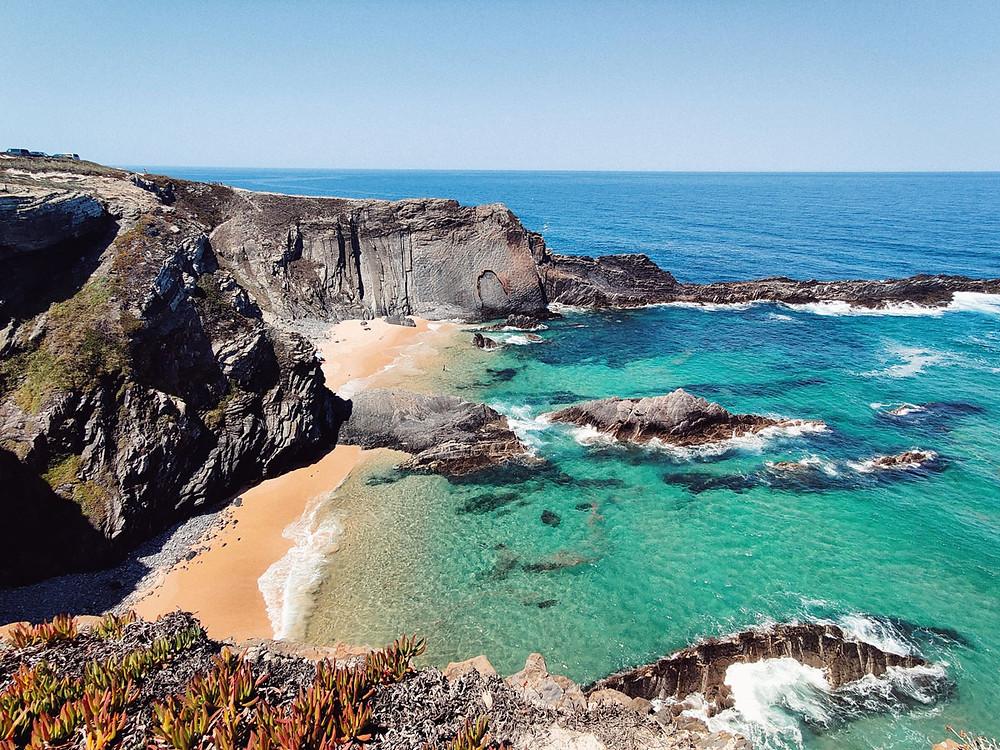 Beach lanscape Alentejo Portugal