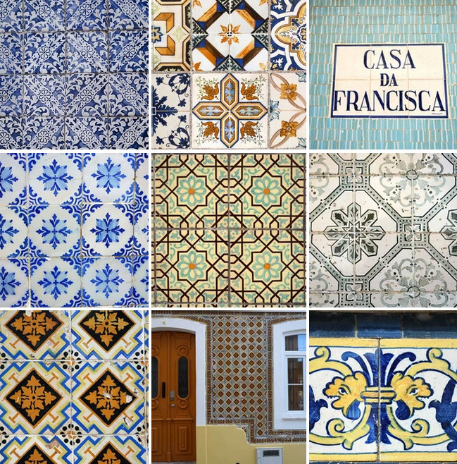 Portuguese ceramic tiles Portugal the Simple Life