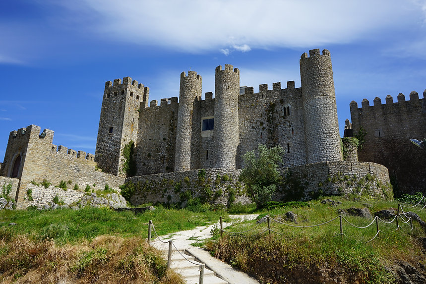 Obidos Castle in Portugal