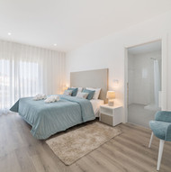 Elegance white and beige double bedroom suite