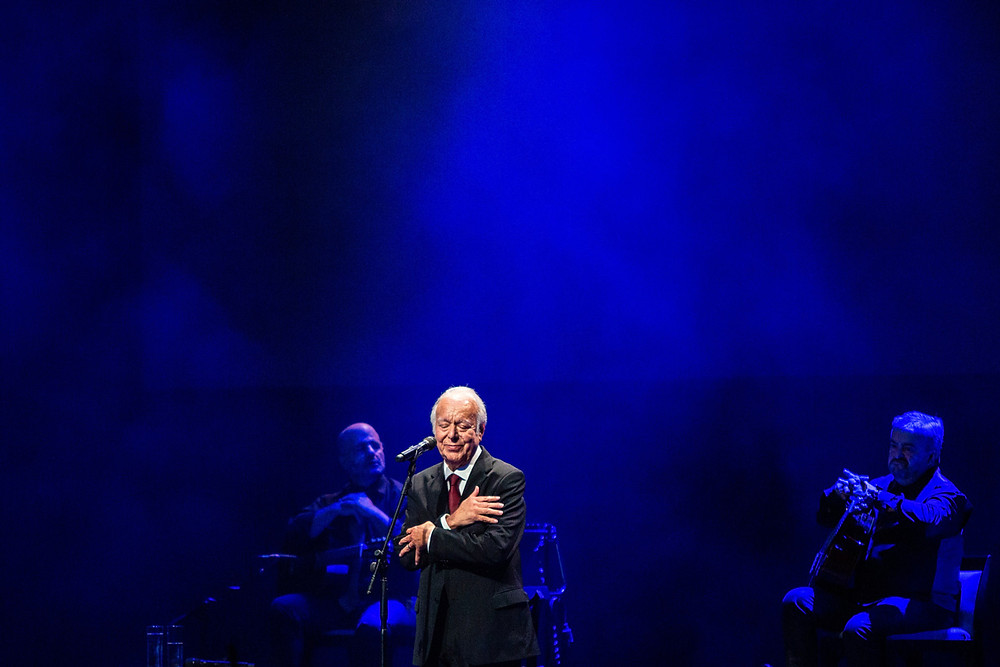 "Known as the ""Sinatra of Fado"", Carlos do Carmo won a Goya and a Grammy"