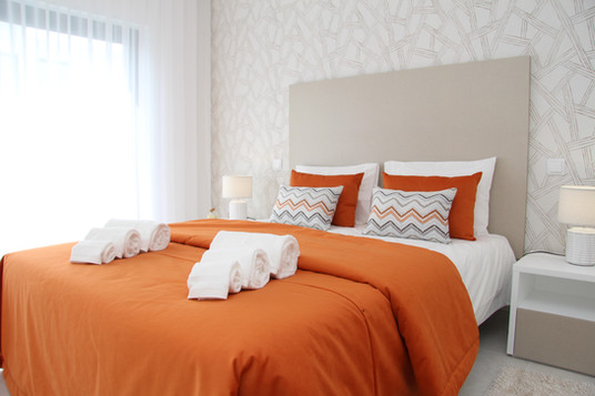 SCH - Bedrooms - Double - Orange