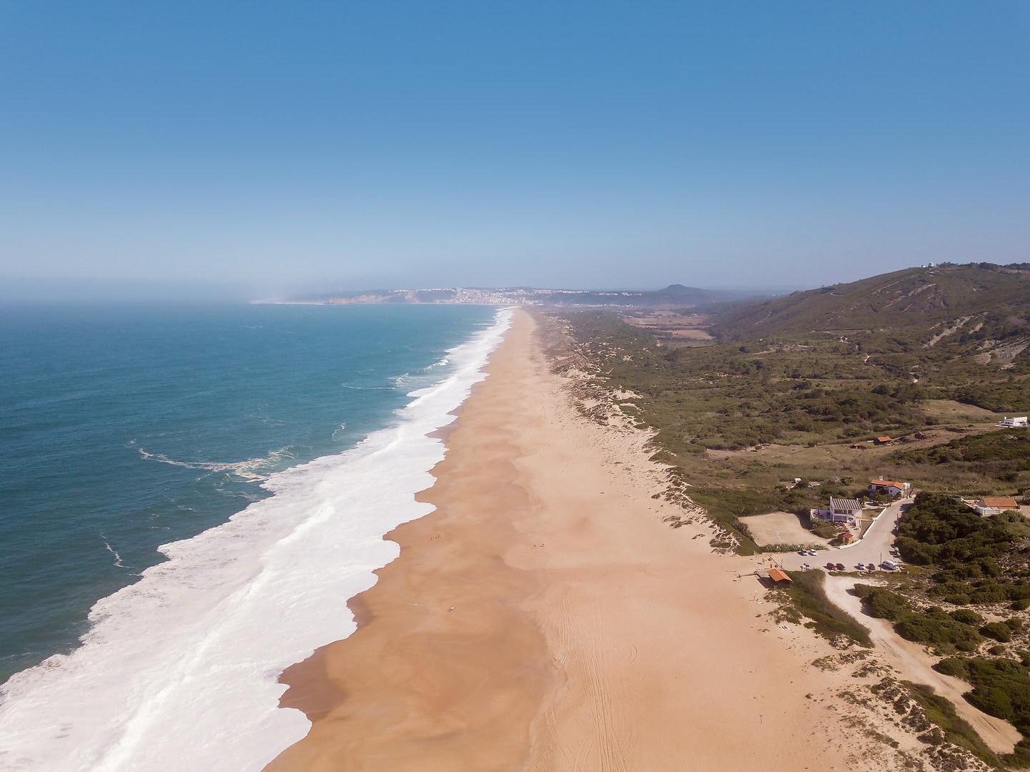 Salgado beach Silver Coast Portugal