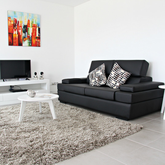 Mixed furniture lines - living area