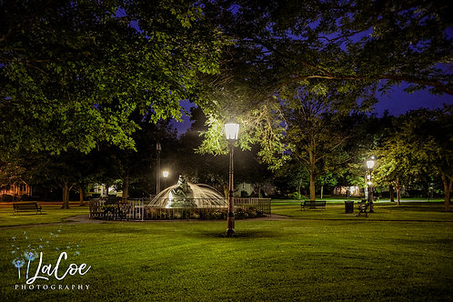 The Green at Night
