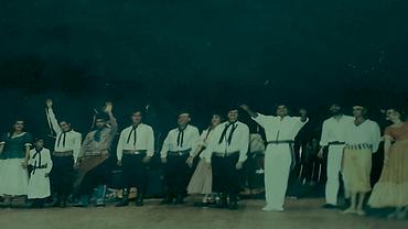 Delegación Niza en el teatro Oficial Juan de Vera la ultima actuación de los musicos chamameceros Zitto Segovia Gringo y Michel Sheridan Yacaré Aguirre Chango Paniagua Jhony Berg Tito Gomez Ballet