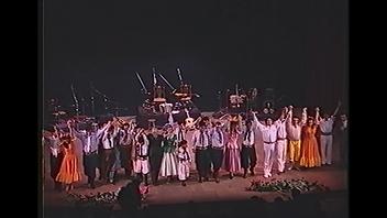 Delegación Niza delegación Bella Vista en el teatro Juan de Vera en Corrientes último show de los chamameceros carnaval francia