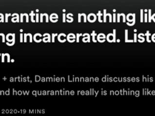 New podcast interview with Damien Linnane