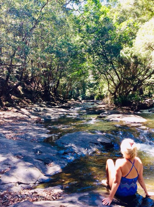 Chill out time at Platypus Creek