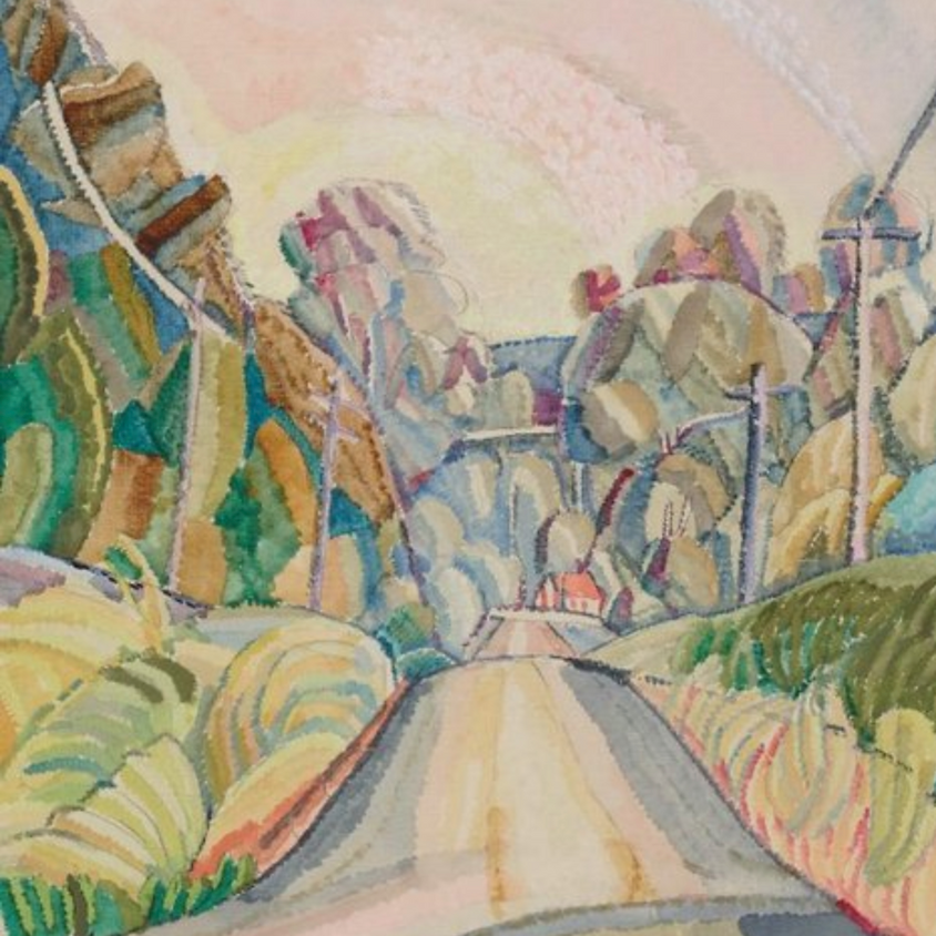 Art Class - In The Style Of Grace Cossington Smith