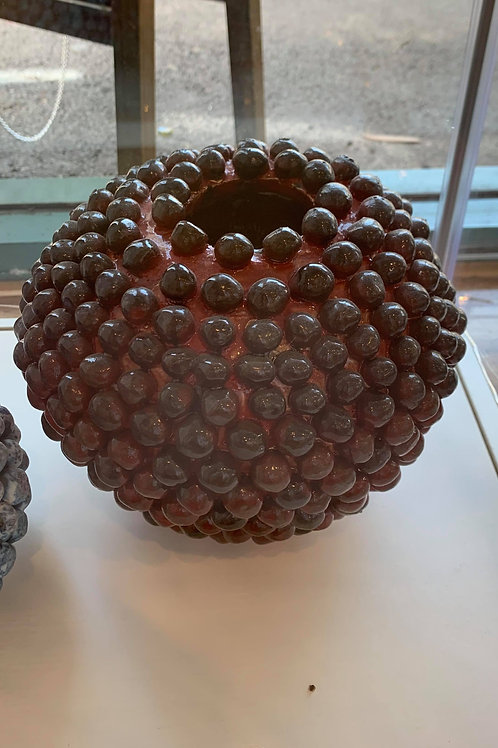 Red Ceramic Pot