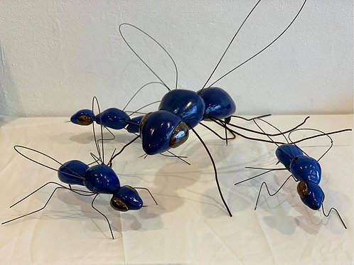 Ceramic Wasps