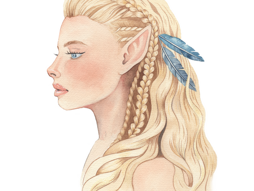 Alisha Verlaan - Watercolor Fantasies