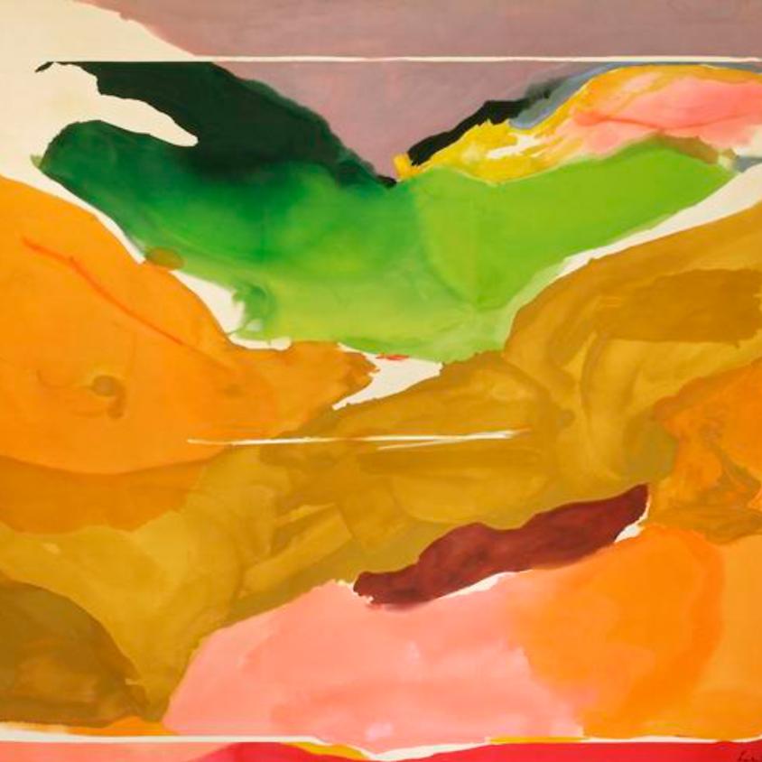Drinks & Inks - In the Style Of Helen Frankenthaler