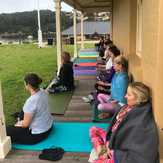 Back to Nature Retreats Meditation Time