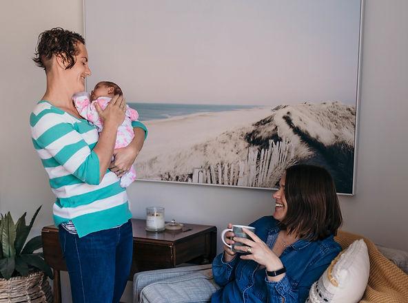 helping mums, newborn support, sleeping babies