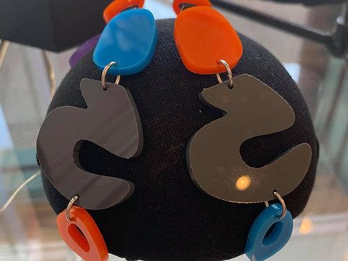 Trixey (Black) Earrings