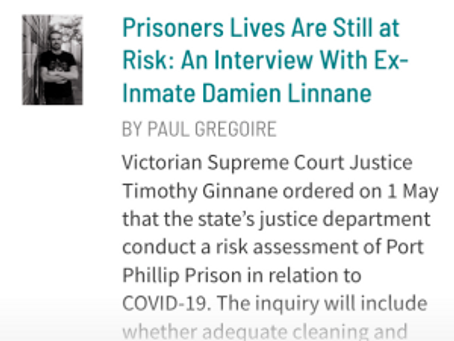 Interview with Damien Linnane up at Sydney Criminal Lawyers