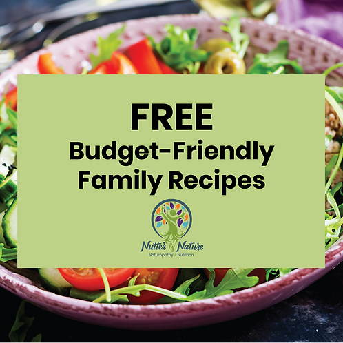 FREE   Budget Friendly Meal Ideas