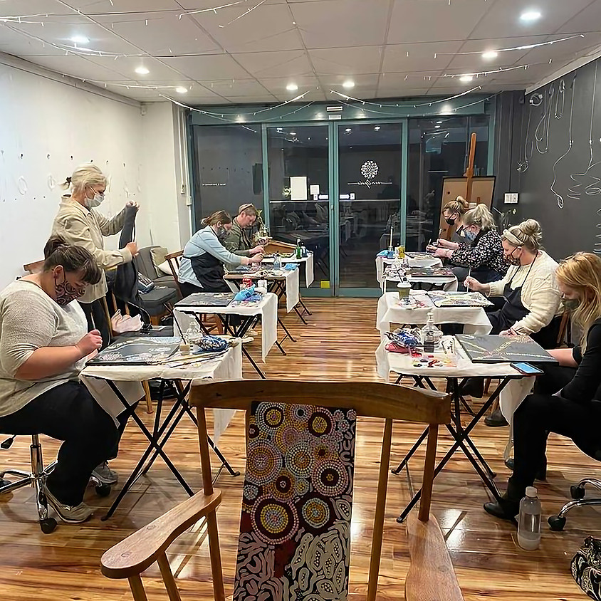 Drinks & Inks - In the Style Of Art Class