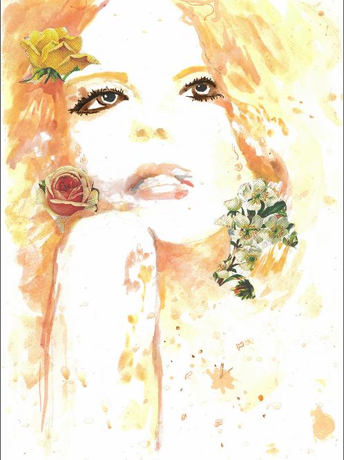 Hero Lady A3 Prints