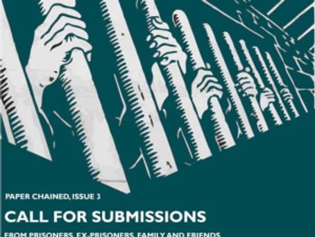 Call for submissions to Paper Chained